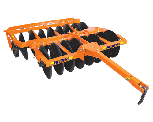 Trailed Offset Disc Harrow ( With Tyres)